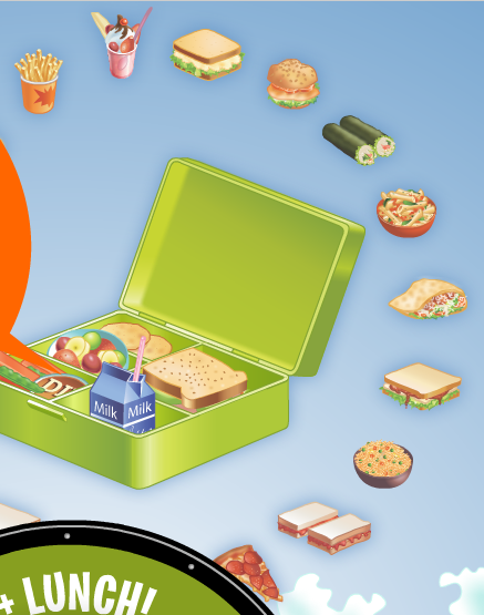 weigh up your lunch box
